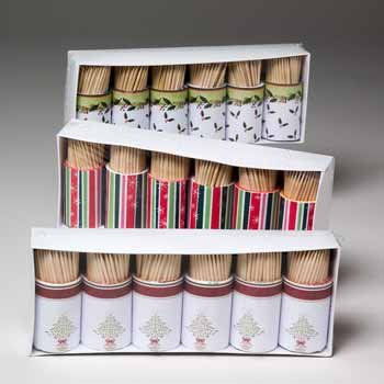 Wholesale Holiday Toothpicks