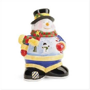 Wholesale Snowman Cookie Jar