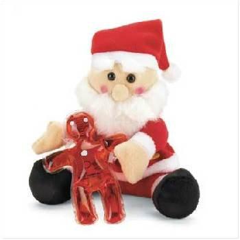 Wholesale Santa Plush With Bath Gel