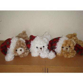 "Wholesale 12"" 3 Asst. Color Laydown Bear Cubs"