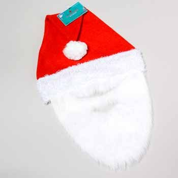Wholesale Santa Hat with Beard