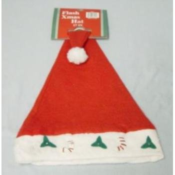 "NEW! Wholesale 17"" Flashing Christmas Hat"
