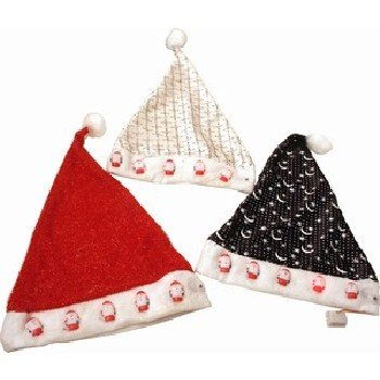 Wholesale Christmas Hat with Lights Assorted Color