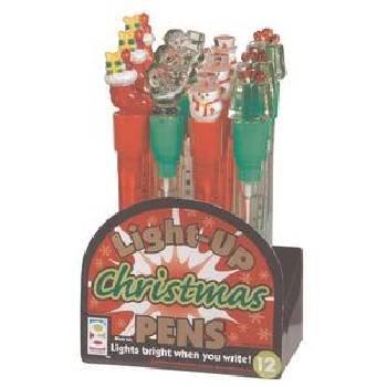 Wholesale Christmas Light-Up Pen..HOT SELLER