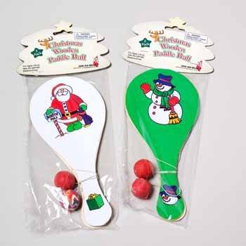 Wholesale Christmas Paddle Ball Games
