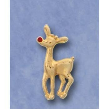 Wholesale Christmas Reindeer Lapel or Hat pins