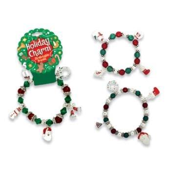 Wholesale Holiday Charm Stretchable Bracelet