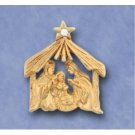 Wholesale Christmas Manger Scene Lapel or Hat Pins