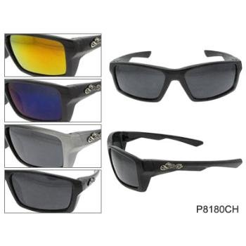 Wholesale Chrome Motorcycle Sunglasses
