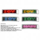 NEW! Wholesale Led Scrolling Electronic Belt Buckle and Belt