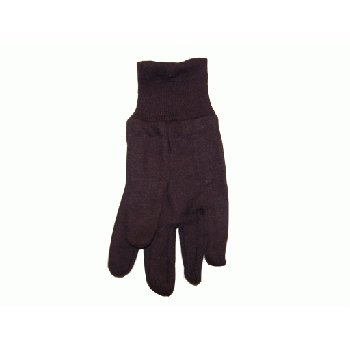 Wholesale Men's Bulk Brown Jersey Gloves