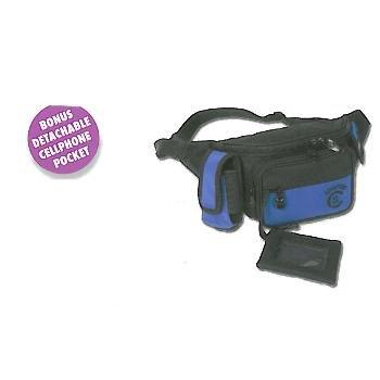 Wholesale 5 Zipper Pocket Belt Bag With Cellphone Pocket And