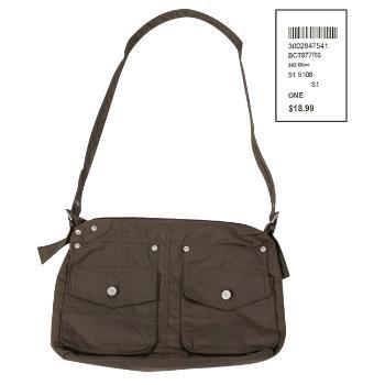 Wholesale Khaki Messenger Bag