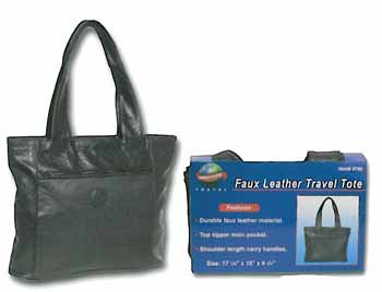 Wholesale Faux Leather Tote Bag