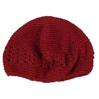 Wholesale Burgundy Kufi - Dozen Packed