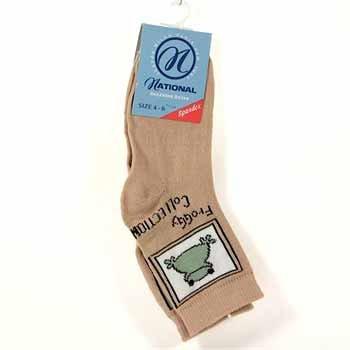 Wholesale Kids Sizes 4-6,6-8 Assorted Print Socks w/Spandex