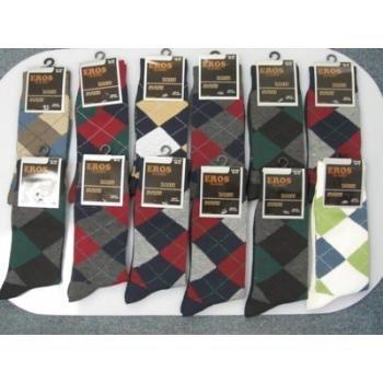 Wholesale Mens Argyle Pattern Socks