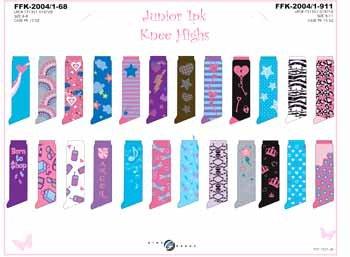 Wholesale Junior 1 Pk Knee Highs