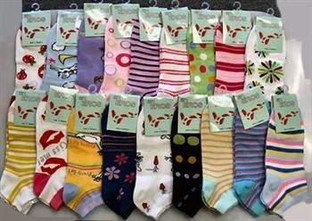 Wholesale Ladies Low Cut Computer Socks