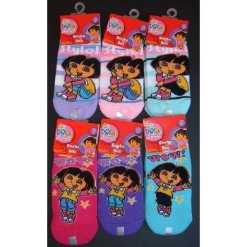 NEW! Wholesale Dora The Explorer Ankle Socks