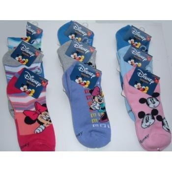 NEW! Wholesale Disney Mickey & Minnie Ankle Socks