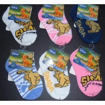 NEW! Wholesale Lion King Ankle Socks