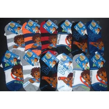 NEW! Wholesale Diego Kid's Ankle Socks