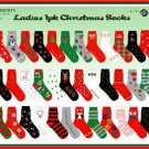 Wholesale Ladies Christmas Socks