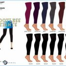 Wholesale Ladies Footless Tights / Ast Colors