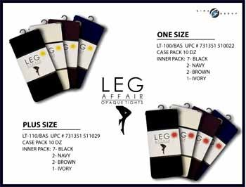 """Wholesale Ladies """"Queen Size"""" Tights"""
