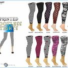 Wholesale Ladies Printed Footless Tights