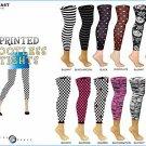 Wholesale Ladies Printed Footless Tights