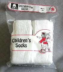 Wholesale 6 Pair Kids Tube Socks Size 6-8