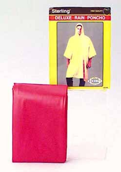 Wholesale Deluxe Rain Ponchos