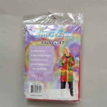Wholesale Raincoat Child 4 To 14