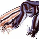 Wholesale Scarf Stripe 10Astd Color
