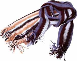 Wholesale Scarf Stripe 10Astd Color
