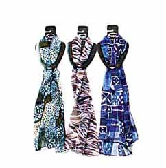 Wholesale 6 Assorted Scarves