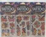 Wholesale Assorted Glitter Tattoos