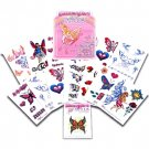 Wholesale Glitter Girls Temporary Tattoo