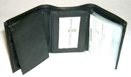 Wholesale Men's Lambskin Leather Wallets