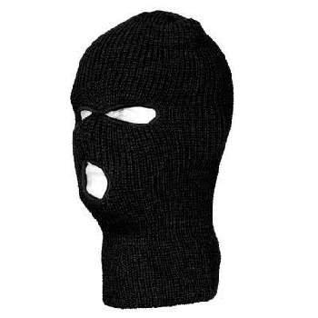 Wholesale Black Full Face Ski Mask - Dozen Packed