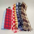 Wholesale 10 Assorted Fleece Scarves