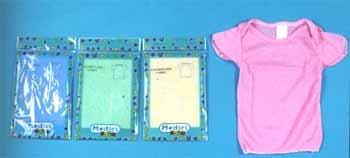 Wholesale Lap Shoulder T Shirt Assorted Colors