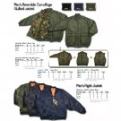 Wholesale Junior Boy's Reversible Camo 3 In 1 Quilted Jacket