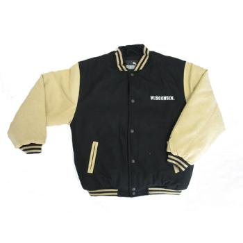 Wholesale Puma Varsity Pseudo Suede Wisconsin Jacket