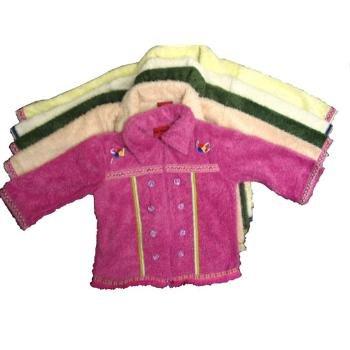 Wholesale Fuzz Jacket Girls Sizes 2t-4t