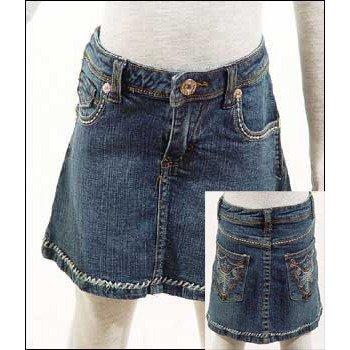 Wholesale Girls' Denim Skirt