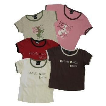 Wholesale Calvin Klein Girls T Shirts Sizes 2T-4T