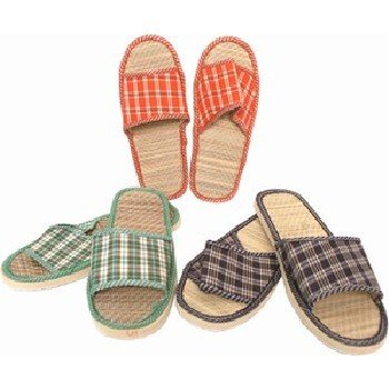 Wholesale Unisex Bamboo Slippers, Assorted